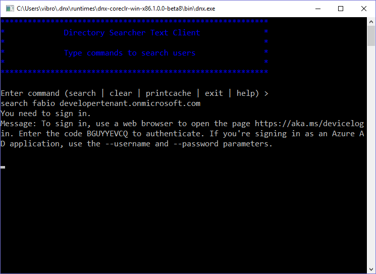 """since """"Modern Authentication with Azure Active Directory"""